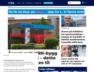 medier24.com screenshot