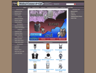 medieval-gifts.com screenshot