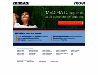 medifiatc.es screenshot