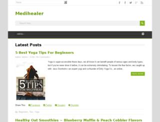medihealer.net screenshot