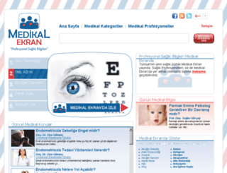 medikalekran.com screenshot
