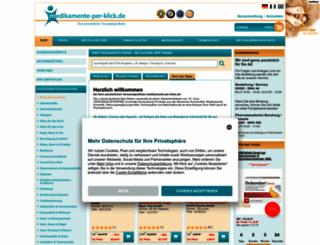 medikamente-per-klick.de screenshot
