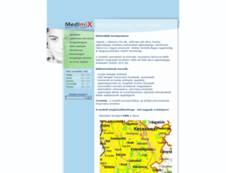 medimix.hu screenshot