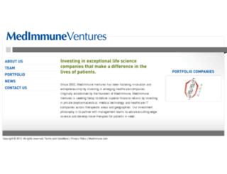 medimmuneventures.com screenshot