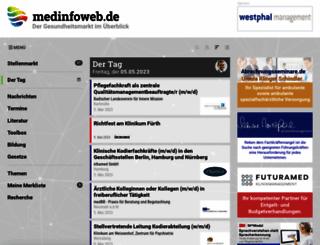 medinfoweb.de screenshot