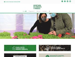 medioambiente.sanluis.gov.ar screenshot