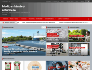 medioambienteynaturaleza.com screenshot