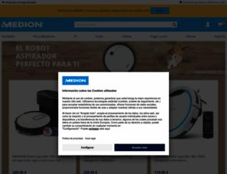 medion.es screenshot