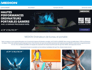 medionshop.fr screenshot