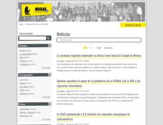 medios.mugak.eu screenshot