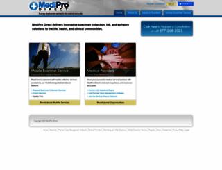 mediprodirect.com screenshot