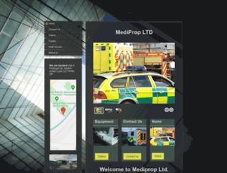 mediprop.co.uk screenshot