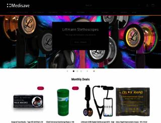 medisave.co.uk screenshot