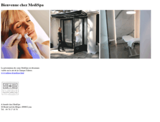 medispa.fr screenshot