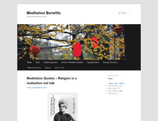 meditationbenefits.co screenshot