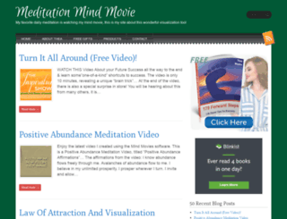 meditationmindmovie.com screenshot
