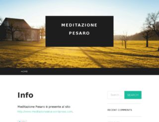meditazionepesaro.wordpress.com screenshot