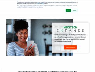 meditech.com screenshot