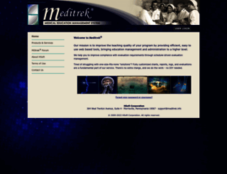 meditrek.com screenshot
