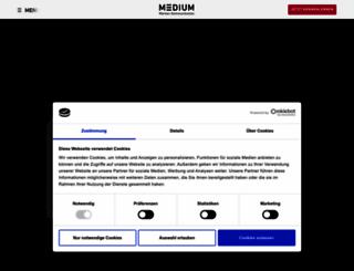 medium-hosting.de screenshot
