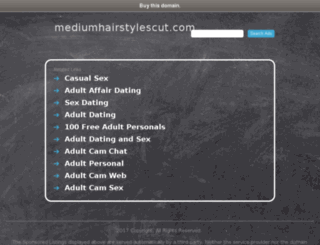 mediumhairstylescut.com screenshot