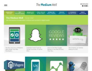 mediumwell.com screenshot
