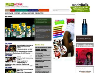 medivitalis-online.de screenshot