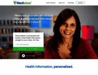 medivizor.com screenshot