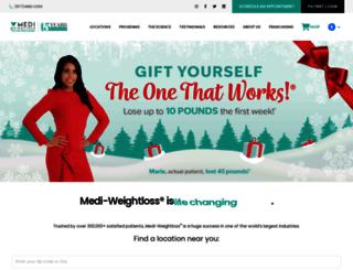 mediweightlossclinics.com screenshot