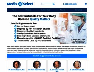 medixselect.com screenshot