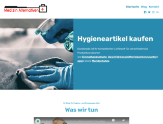 medizin-alternativen.de screenshot