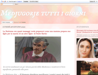 medjugorjetuttiigiorni.blogspot.it screenshot