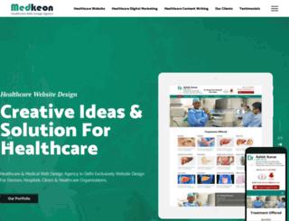 medkeon.com screenshot