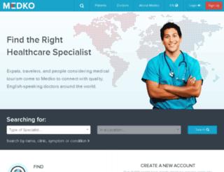medkohealth.com screenshot