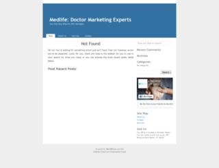 medlifeclinic.net screenshot