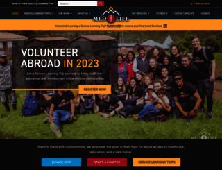 medlifeweb.org screenshot