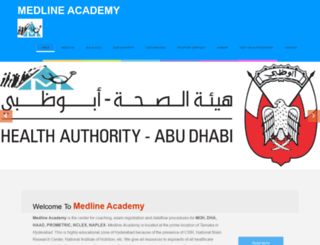 medlineacademy.com screenshot