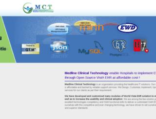 medlinetechnology.com screenshot