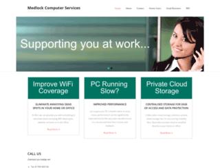 medlockcs.co.uk screenshot