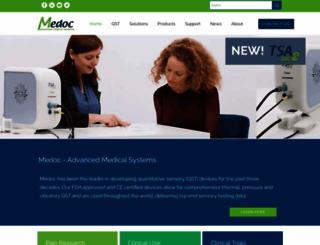 medoc-web.com screenshot