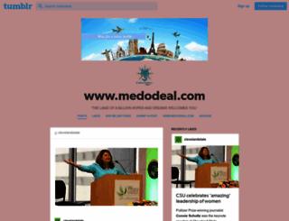 medodeal.tumblr.com screenshot