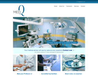 medq.co.uk screenshot