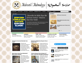 medresetulmahmudiyye.com screenshot