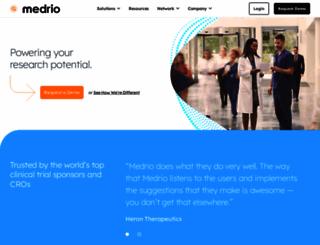 medrio.com screenshot