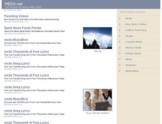 meds.net screenshot