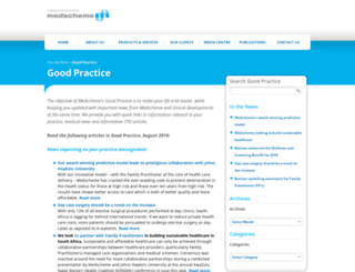 medschemegoodpractice.co.za screenshot