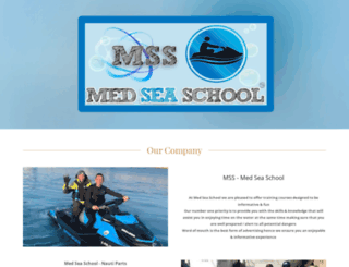 medseaschool.com screenshot