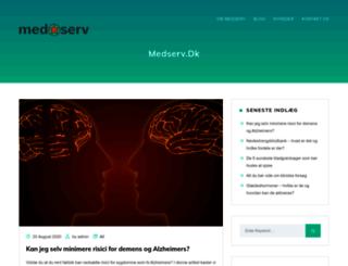 medserv.dk screenshot