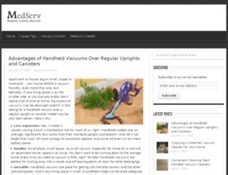 medservnews.com screenshot