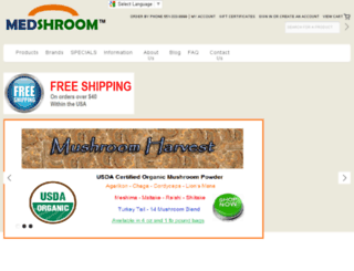 medshroom.com screenshot